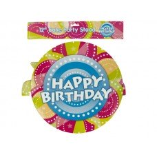 Happy Birthday Party Cake Stand