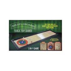 3 In 1 Shuffleboard Tabletop Game