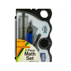 Math Tool Set in Carrying Case