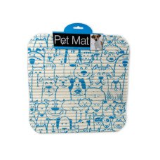Cats & Dogs Print Pet Mat