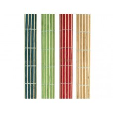 Roll-Up Bamboo Placemats Set
