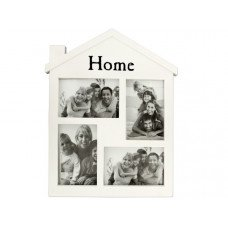 Home White Collage Photo Frame