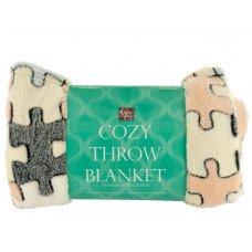 Super Soft Jacquard Coral Fleece Blanket