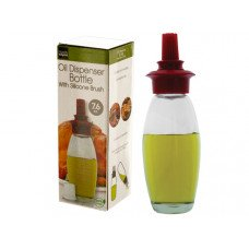 7.6 oz. Oil Dispenser Bottle with Silicone Brush