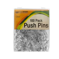Clear Push Pins