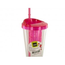 Fruit Infuser Travel Tumbler with Straw