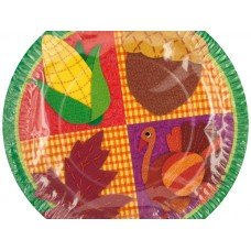 Small Thanksgiving Party Plates
