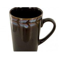 12 oz. Brown & Purple Shadow Ceramic Mug
