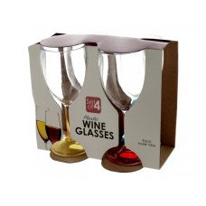 10 oz. Plastic Wine Glasses Set