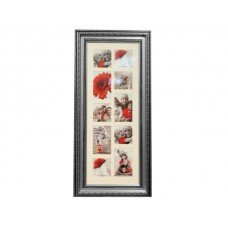 Antique Silver Collage Photo Frame