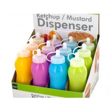 8 oz. Ketchup & Mustard Dispenser Countertop Display