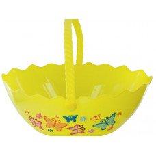 Egg Shape Printed Easter Basket