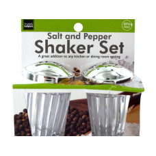 Crystal Look Salt & Pepper Shaker Set