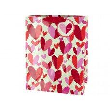 'Happy Day' Hearts Gift Bag