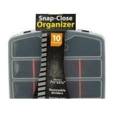Snap-Close Tool Organizer Case