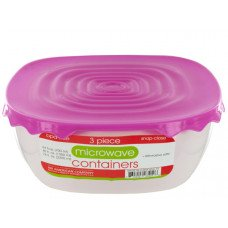 Microwave Food Containers Set