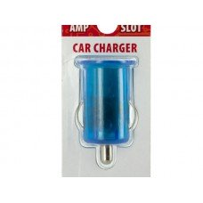 Clear Colored Single Port USB Car Charger