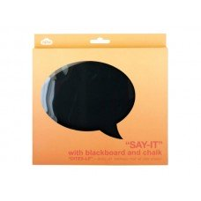 Say-It Blackboard & Chalk Set