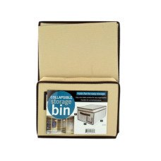 Collapsible Storage Bin with Lid