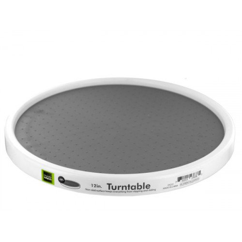 Turntable with Non-Skid Surface