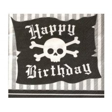 Pirate Parrty Beverage Napkins