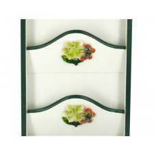 Butterfly Key Cabinet with Letter Holder