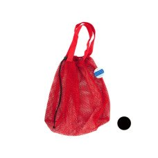 Mesh Drawstring Beach Bag
