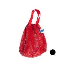 Mesh Drawstring Beach Bag