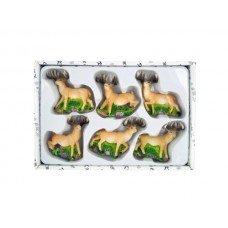 Decorative Deer Magnets Set