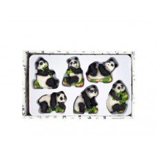 Decorative Panda Bear Magnets Set