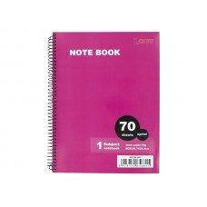 Spiral Bound 1 Subject Notebook