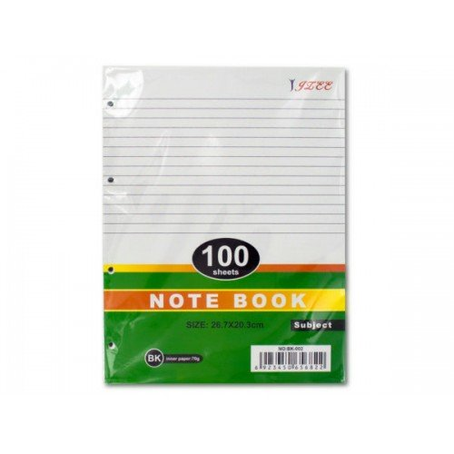 4-Hole Notebook Filler Paper