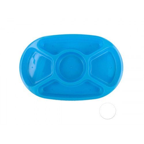 5 Section Appetizer Platter with Lid
