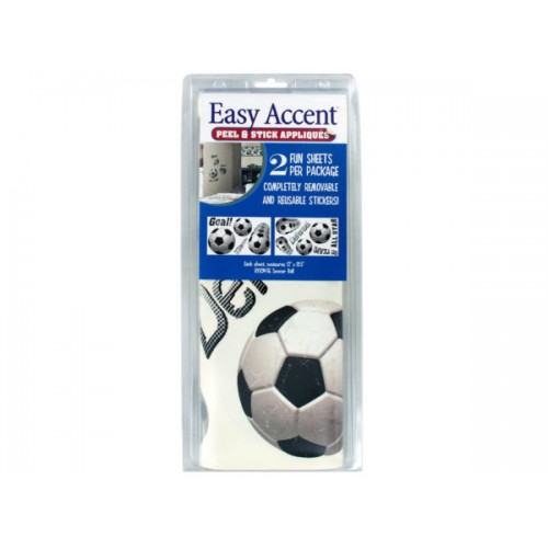 Soccer Ball Peel & Stick Appliques