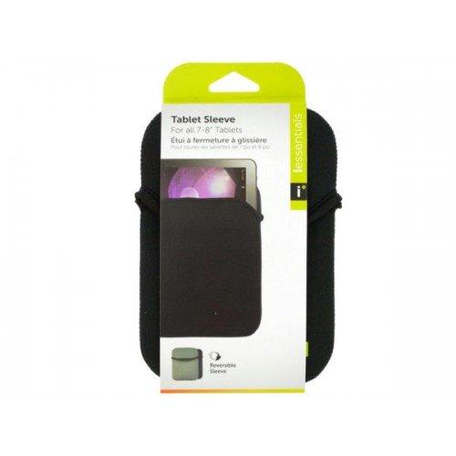 iessentials Small Black Reversible Tablet Sleeve