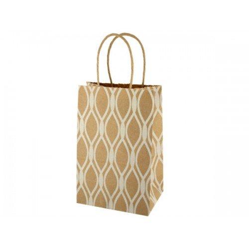 Small Lattice Craft Paper Gift Bag