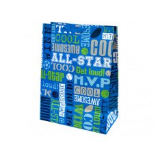 Boys Sports Words Mega Gift Bag