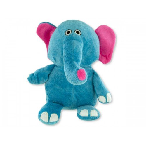Plush Elephant Pet Toy with Squeaker