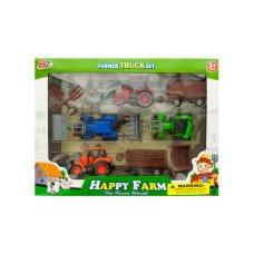 Farm Tractor Truck & Trailer Set