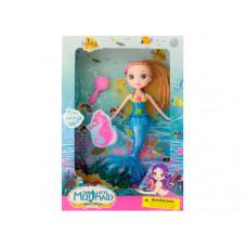 Mermaid Doll with Hairbrush