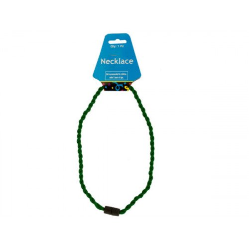 Green Twist Sport Necklace