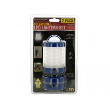 Collapsible LED Lantern Set