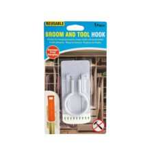 Reusable Broom & Tool Hook