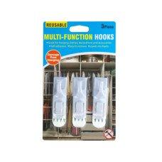 Reusable Multi-Function Hooks Set