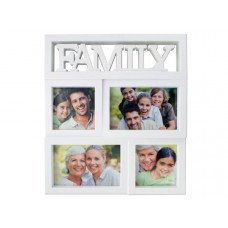 Family Rectangular Photo Collage Frame
