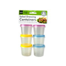 1 oz. Salad Dressing Containers Set