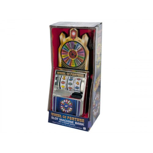 Wheel of Fortune Slot Machine Bank