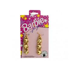 Barbie for Girls Gold Star Dangle Earrings