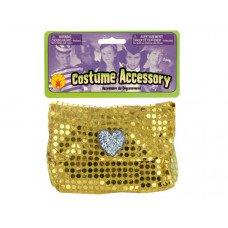 Girls' Gold Sequin Pocketbook