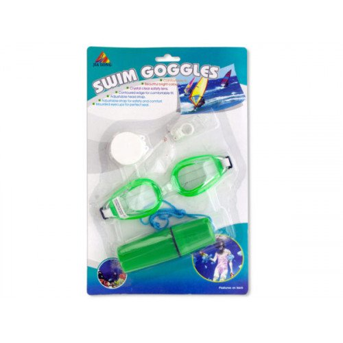 Swim Goggles & Accessories Set